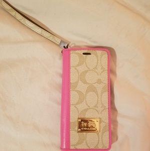 Coach Samsung Galaxy Note 8 wallet case
